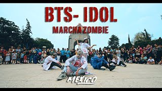 [KPOP IN PUBLIC CHALLENGE] #IDOL - #BTS (방탄소년단)  dance cover from Mexico