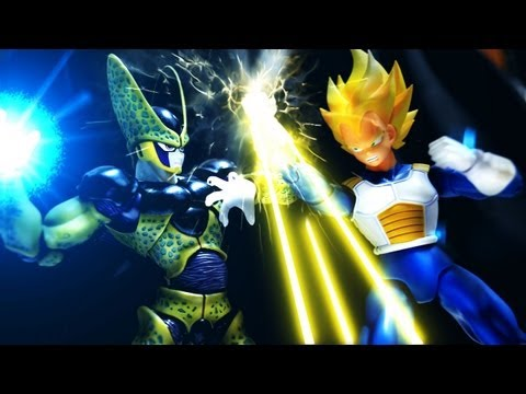 Dragon Ball Z Stop Motion - Cell's return �����-賽魯�歸