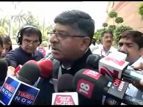 Ravi Shankar Prasad on Net Neutrality