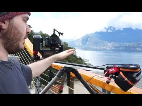 Konova slider time lapse kit with motorized pan/tilt head REVIEW