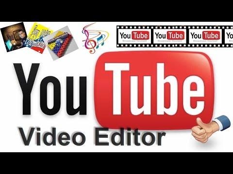 Como Crear Un Video De Fotos y Musica Con El Editor Online De YouTube...!!!
