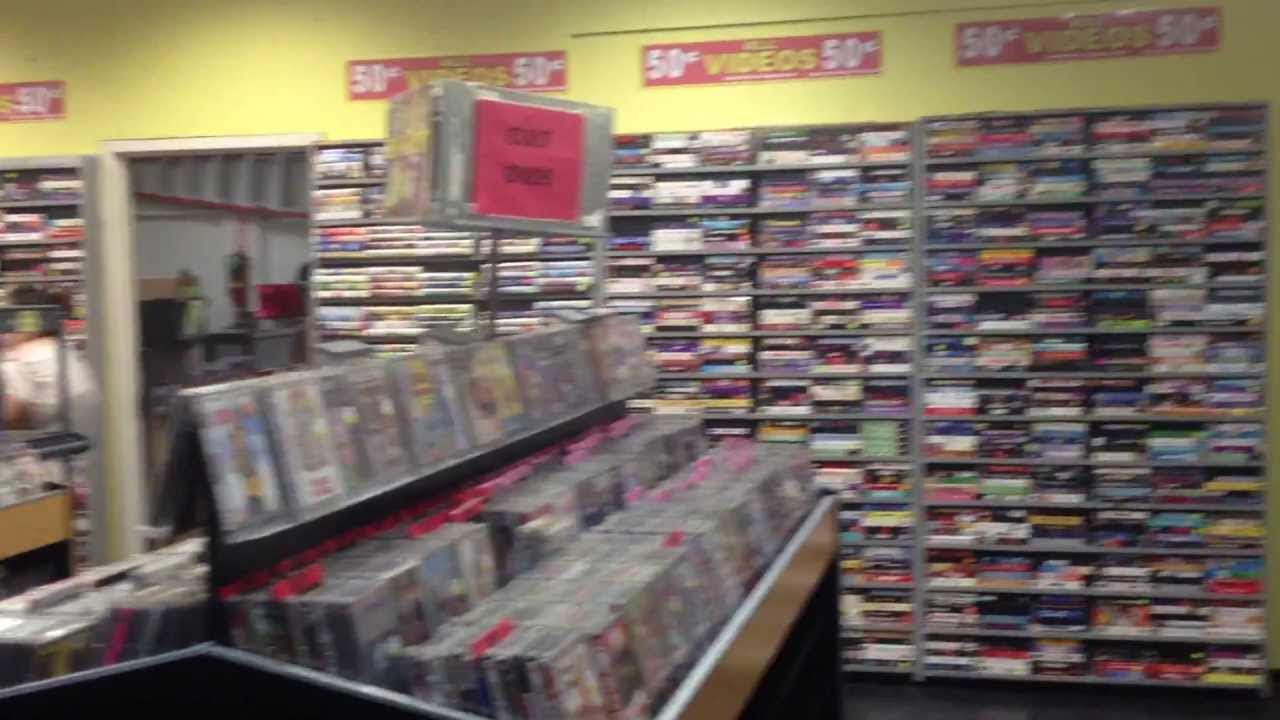 Movie store used