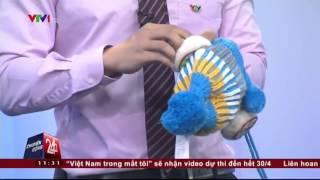 Mũ len trẻ em Trung Quốc gắn thiết bị gây ù tai, nhức óc