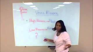NCLEX Review - Ventilator Alarms