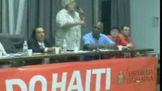 Ato Pela Retirada Das Tropas Do Haiti Miltom Barbosa Mnu