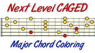 Taking CAGED To The Next Level - Major Chord Coloring