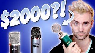 $32 Microphone vs $100 Microphone vs $2000 Microphone