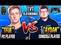 TFUE VS GHOST AYDAN 1v1 Playgrounds - Best PC Player VS Best Console Player! (CRAZY BUILD BATTLES!) thumbnail