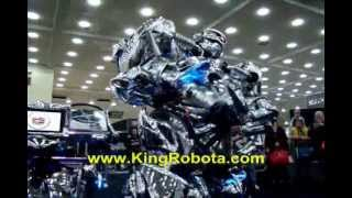 KING ROBOTA - The Undefeated  Worlds Greatest Robot Show 2013