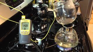 Simplifying the Stove-Top Siphon Brew - Temperature Experiment