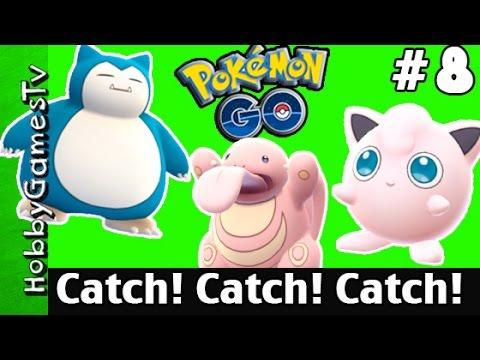 Pokemon Go #8 New Pokemon Catch Gym Battle Fail HobbyGamesTV