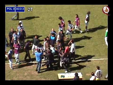 Incidentes en partido Policial vs Atl.Concepción