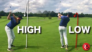 How to: Hit your golf ball VERY HIGH or SUPER LOW
