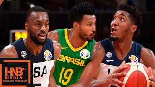 USA vs Brazil - Full Game Highlights | FIBA World Cup 2019
