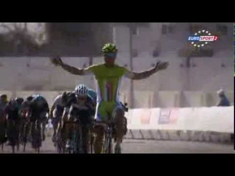 Stage 4 - Tour of Oman 2014 - bunny hop Peter Sagan klip izle