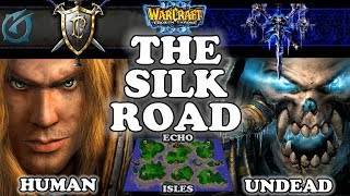 Grubby | Warcraft 3 TFT | 1.29 | HU v UD on Echo Isles - The Silk Road
