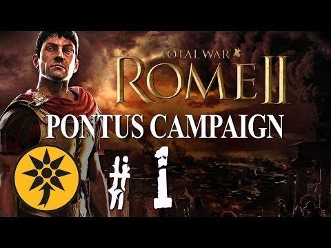 Total War: Rome II - Let's Play as Pontus - Part 1