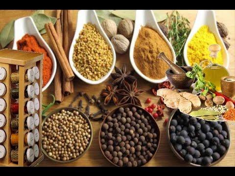 اسماء البهارات والتوابل  الاعشاب  للمطبخ  بالصور thumbnail