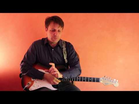Lesson Guitar - C Major Scale - Alternate Picking Riff