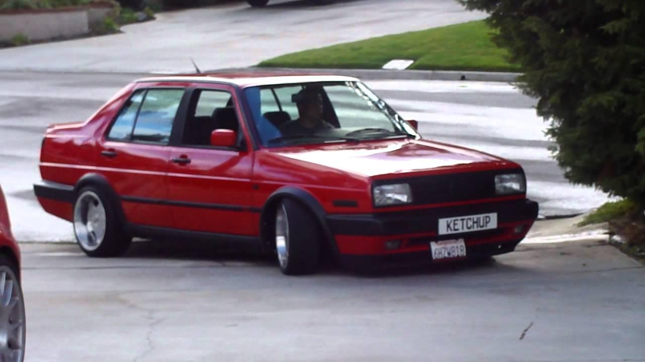 "MK2 VW Jetta VR6 ""Ketchup"" - YouTube"