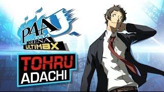 Persona 4 Arena Ultimax - Adachi Character Trailer