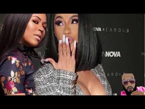 Cardi B Exposed: Accused Of Stealing Ashanti Little Sister Design For Fashion Nova Line