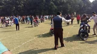 বিজয় দিবস উপলক্ষে মটর সাইকেল স্লো রেষ খেলা চাঁপাই নবাবগঞ্জ