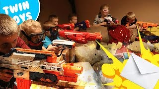 Nerf War:  Mail Time Mayhem 22