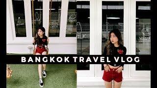 BANGKOK TRAVEL VLOG 2017 | NIGHT MARKET, STREET FOOD, CAFE HOPPING