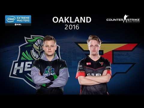 CS:GO - Heroic vs. FaZe [Train] - Group B - IEM Oakland 2016