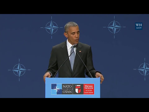 Obama on NATO Ukraine Commission, assistance package & alliance support for Ukrainian forces
