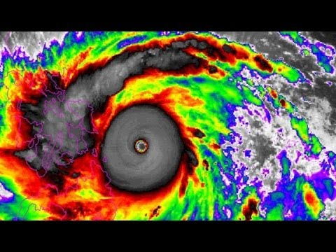 Typhoon Haiyan one of the biggest storms ever