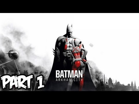 Batman Arkham City Walkthrough Part 1 HD - So Amazing! (Xbox 360/PS3/PC Gameplay)