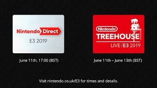 Nintendo @ E3 2019 day 1 - Nintendo Direct: E3 2019 and Nintendo Treehouse: Live