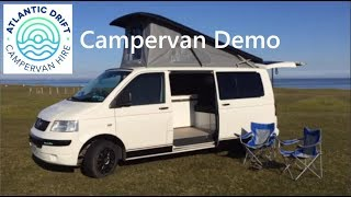 Facebug Campers Intro Video to our VW T5 Poptop Campervan