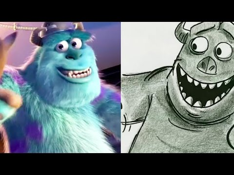 """Monsters Inc. Side By Side """"Fright Night"""" Pt 2 