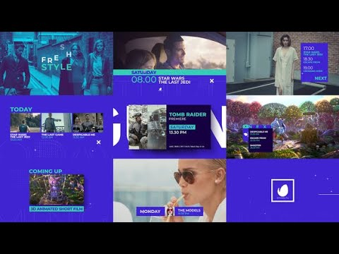 Dynamic Broadcast Pack   After Effects Template