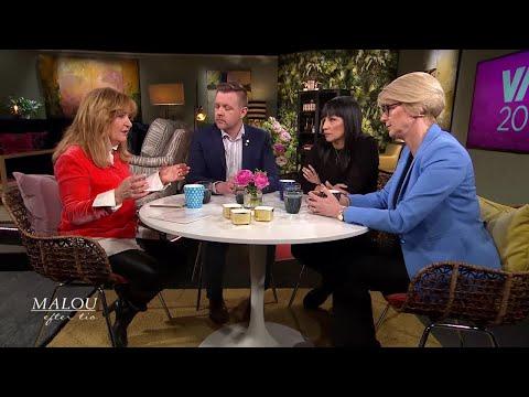 """""""Vi pratar inte om de som flyr Sverige - för att slippa betala skatt"""" - Malou Efter tio (T"""