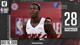 Kendrick Nunn Full Highlights Heat vs Timberwolves (2019.07.10) Summer League - 28 Points!