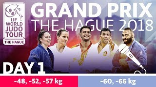 Judo GrandPrix The Hague 2018 Day 1