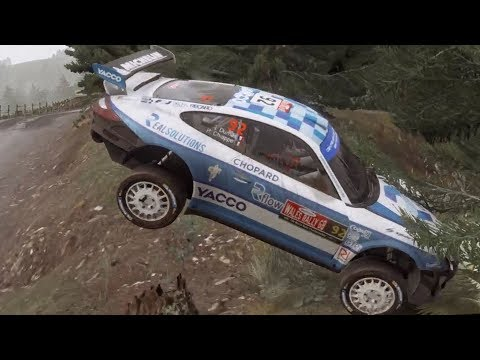 WRC 7 FIA World Rally Championship - Crash Compilation (PC HD) [1080p60FPS]