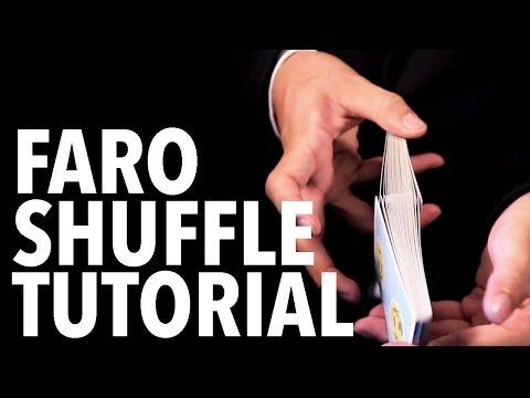 Cardistry for Beginners: Shuffles - Faro Shuffle Tutorial