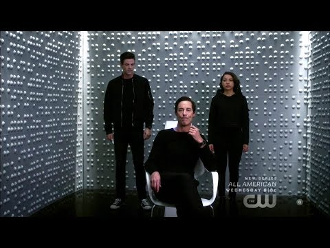 """The Flash 5x08 Thawne, Nora, Barry """"What's past is Prologue"""" Season 5 Episode 8 Scene thumbnail"""