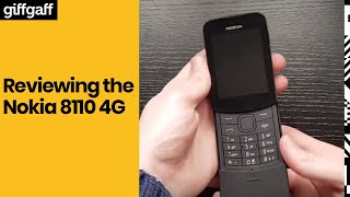 Nokia 8110 4G | Phone review | giffgaff