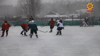 Хоккейный турнир «Люблю папу, маму и хоккей»