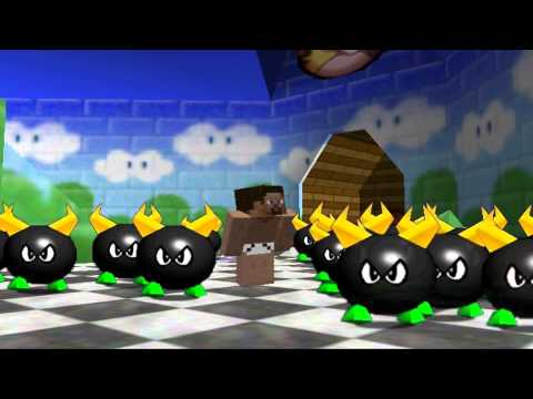 super mario 64 bloopers: Boil the Big Bully
