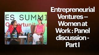 Entrepreneurial Ventures   Women at Work