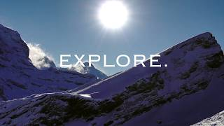 Explore. The world is waiting.