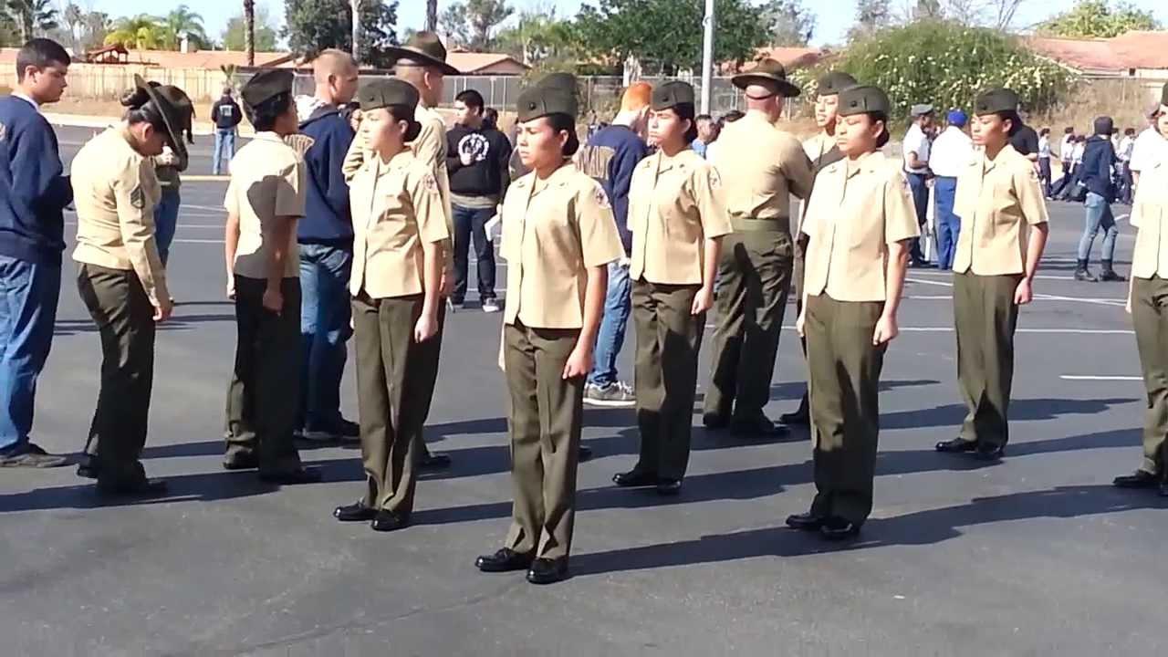 Oceanside High School MCJROTC Unarmed #1 Inspection ...