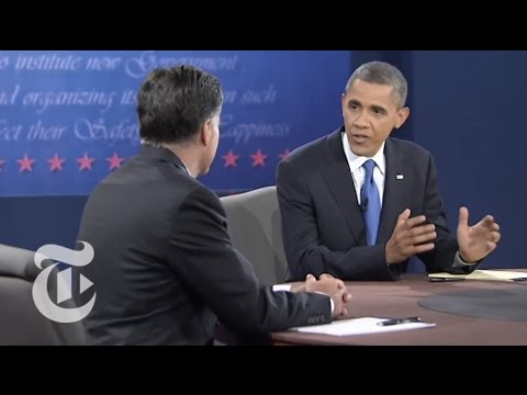 Obama to Romney: Cold War is Over - Third Presidential Debate - Elections 2012